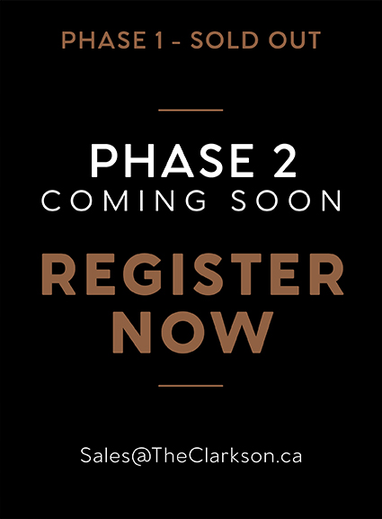 PHase one sold out. Phase two coming soon register now