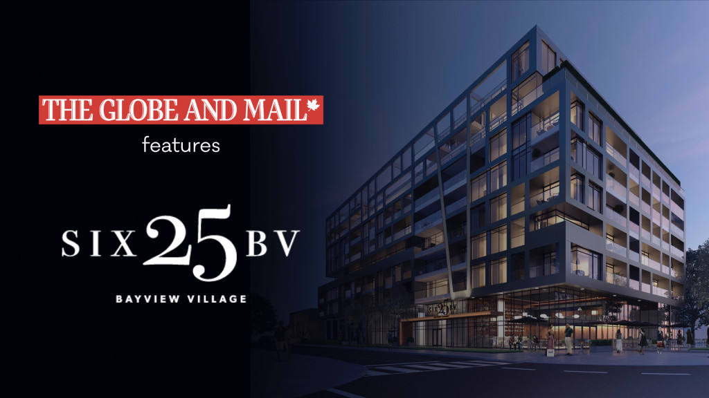 The Globe and Mail features SIX25BV