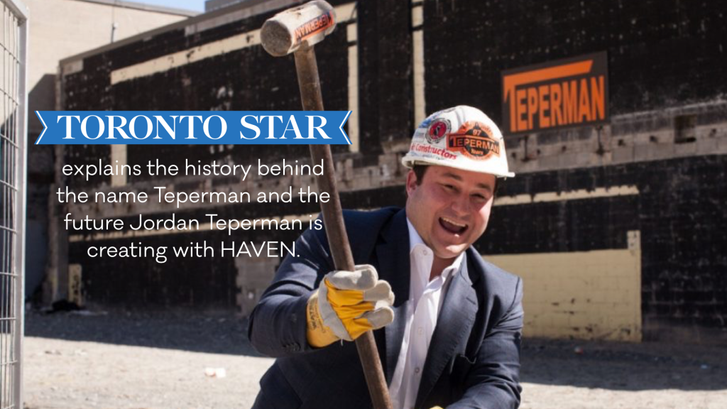 Jordan Teperman, EVP and General Counsel of HAVEN Developments