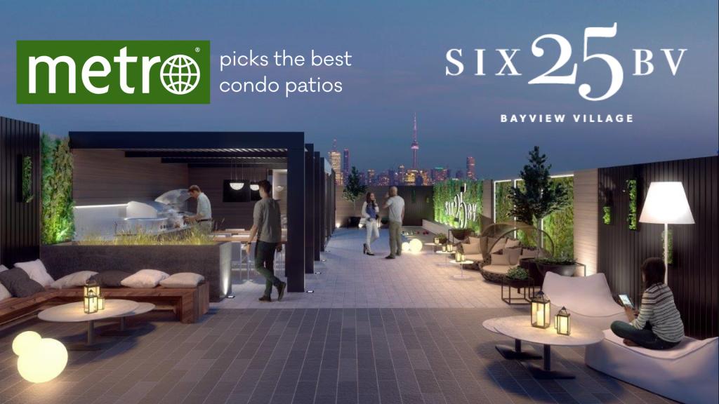 Metro News picks SIX25BV as best patio