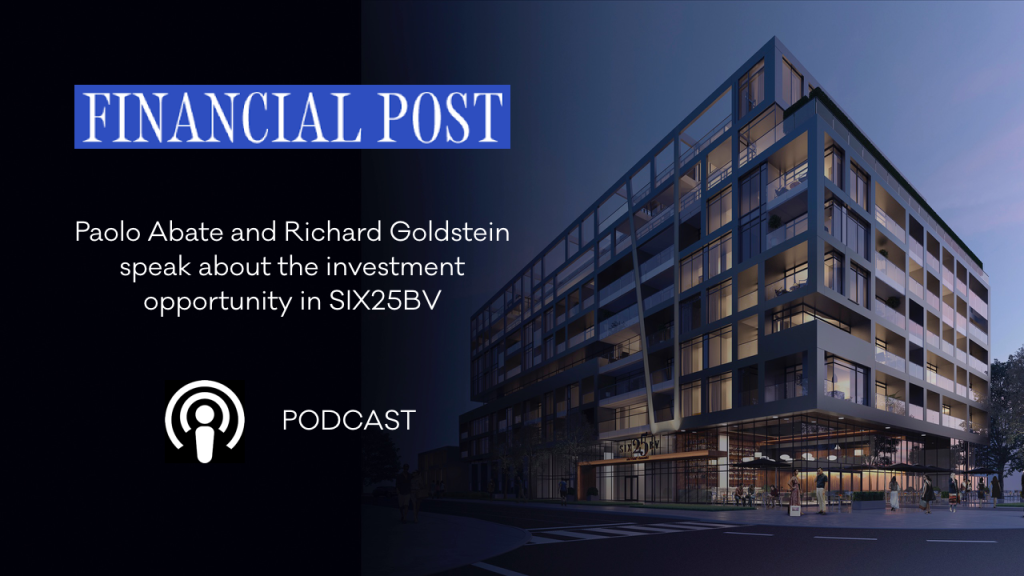 Listen to the FINANCIAL TIMES podcast ON SIX25BV with Paolo Abate